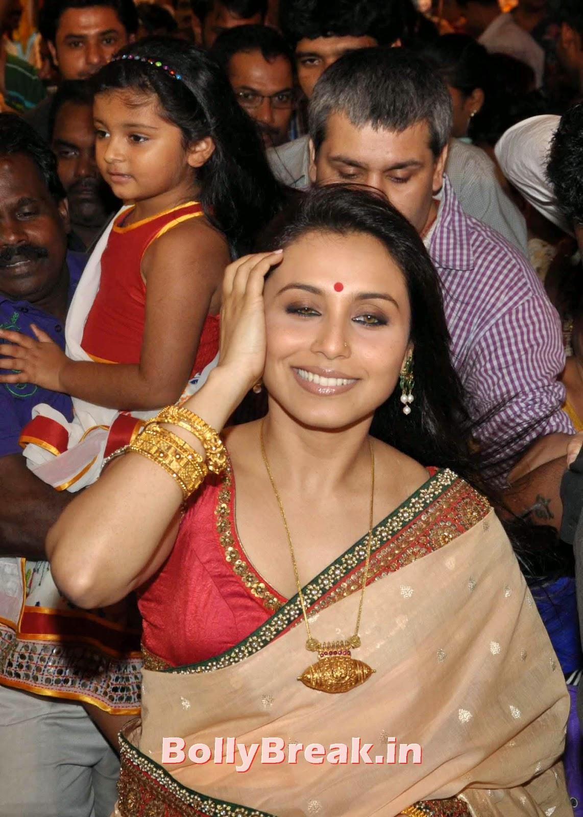 Rani Mukherjee Bengali Saree Hot Slike v visoki ločljivosti - 5 Slike-2376