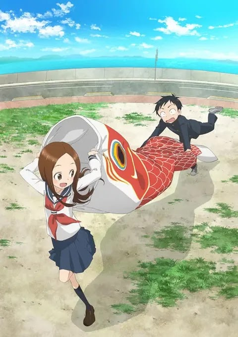 Visual Musim Kedua Karakai Jouzu no Takagi-san