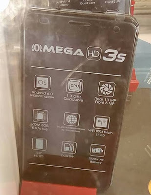 Cherry Mobile Omega HD 3S Now in Stores for Php2,999; 5-inch Quad Core Marshmallow