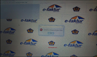 update-database-efaktur-gagal