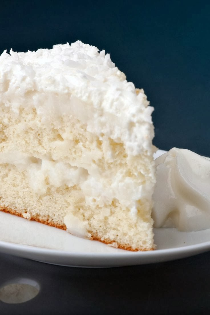 Coconut Cream Cake Cook N Is Fun Food Recipes Dessert