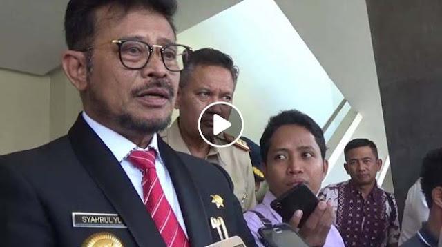 Video Tolak Pengungsi Rohingya, Klarifikasi Gubernur Syahrul: Itu Editan dan Diviralkan Lagi