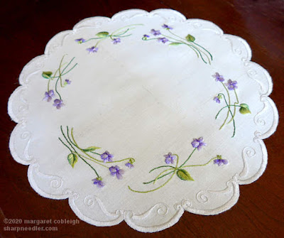Society Silk Violets: Filament silks under natural light with beautiful glow