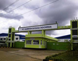 Loker Pabrik Terbaru di Semarang PT.SAMWON BUSANA INDONESIA Jepara