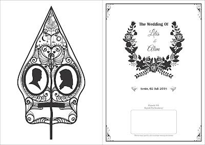 Download Desain Undangan Pernikahan Format Vector Corel ...