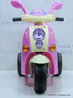 Motor Mainan Aki JUNIOR QX7336 LOVELY SCOOPY