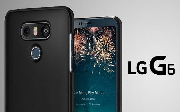 Tin đồn LG G6: pin 3200mAh, không thể tháo rời