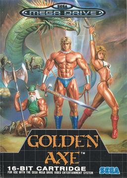 Rom de Golden Axe - Mega Drive em PT-BR