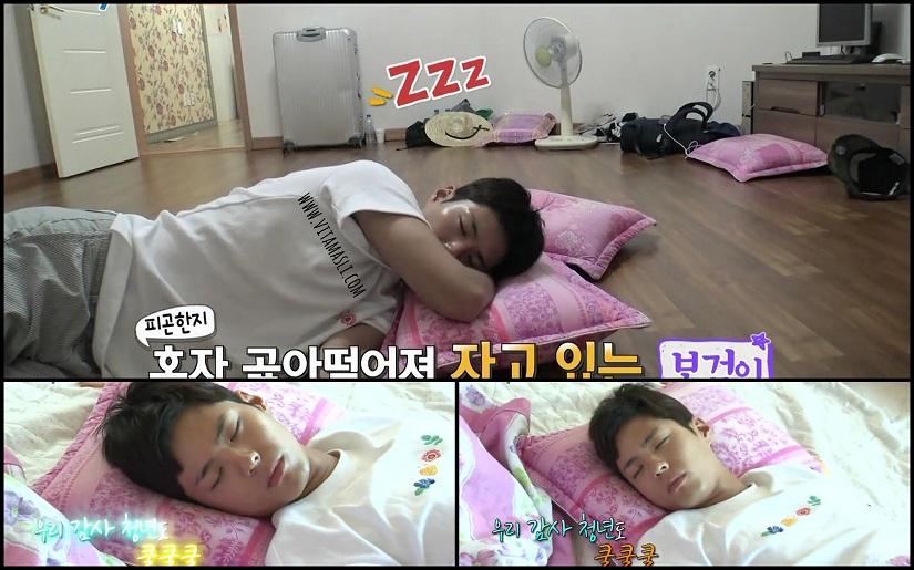 Park Bo Gum sleep