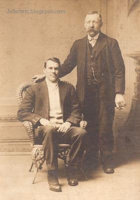 Harry Escue and son, Shenandoah, Virginia