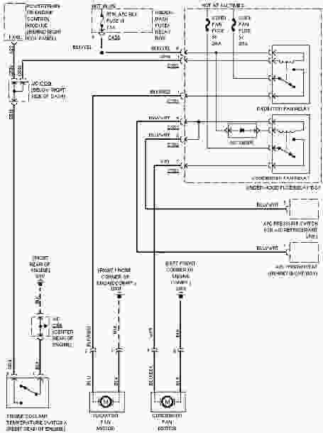 2002 honda civic cooling wiring diagram  center wiring