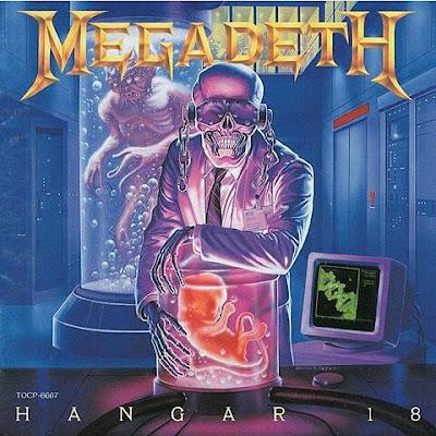 Portada del single Hangar 18 de Megadeth