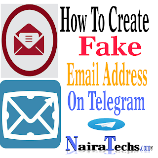 You can create unlimited fake email addresses using the below listed telegram bots
