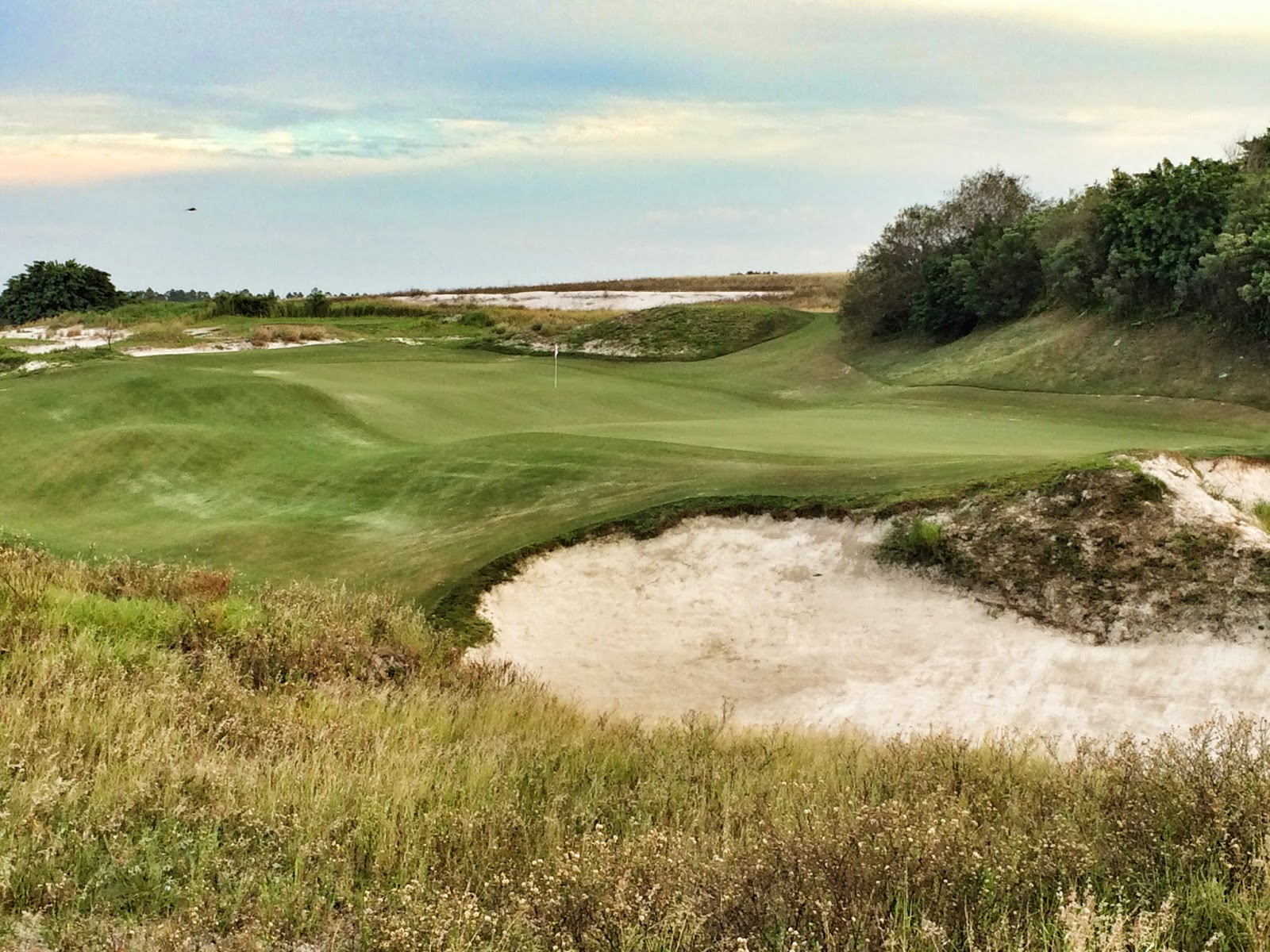 Streamsong Red 16th Green