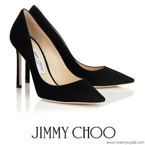 Princess Marie wore JIMMY CHOO suede Pumps