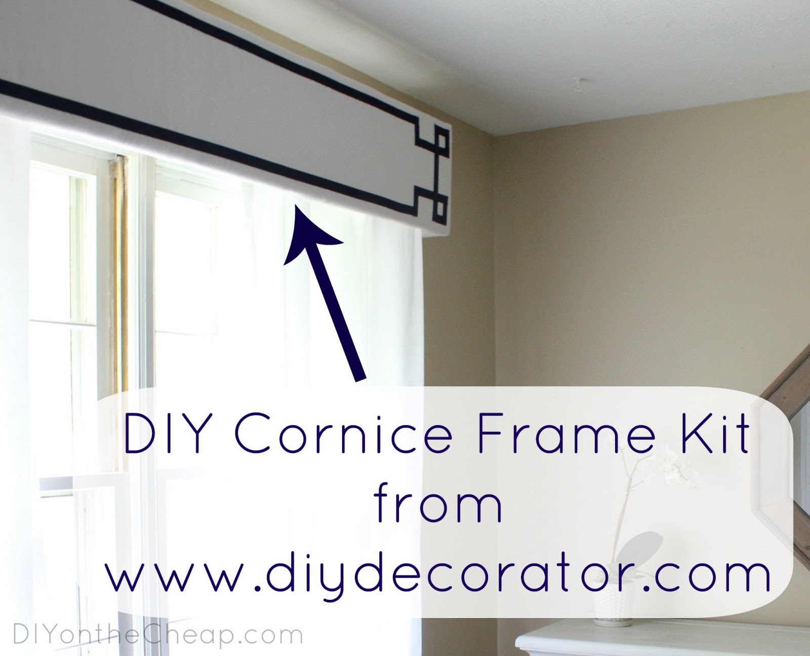 New Window Treatments Diy Cornice Frame Kit Review
