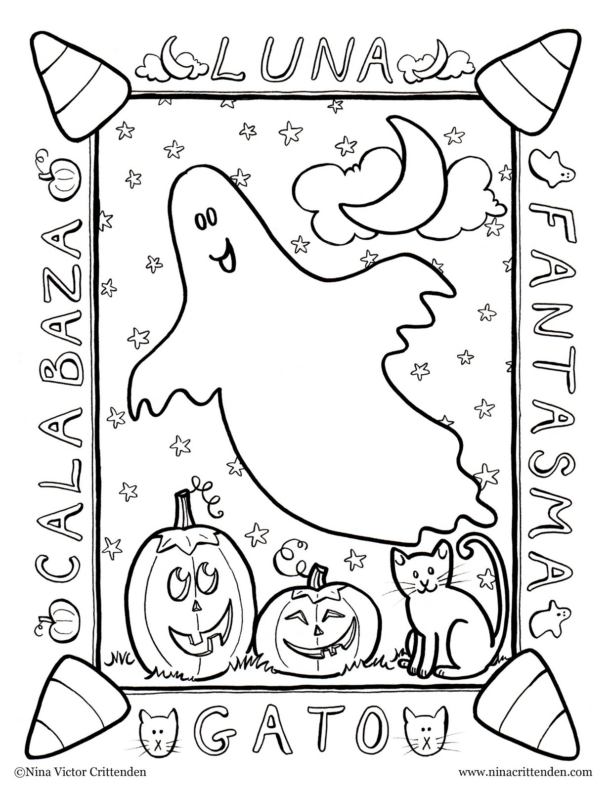 Colouring Pages Horror And Doors On Pinterest Printable Rose