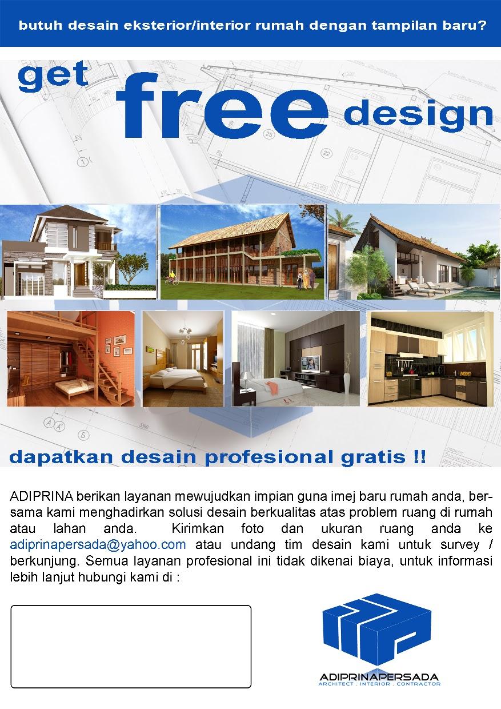 Contoh Brosur Desain Interior Contoh Desain Rumah Terbaik