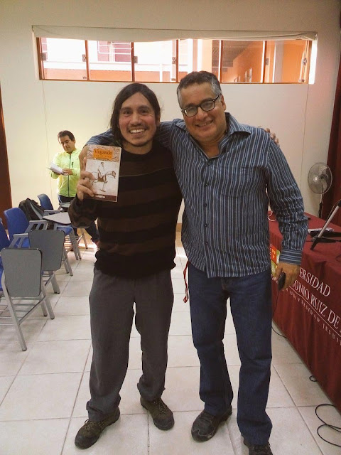 con Guillermo Reaño