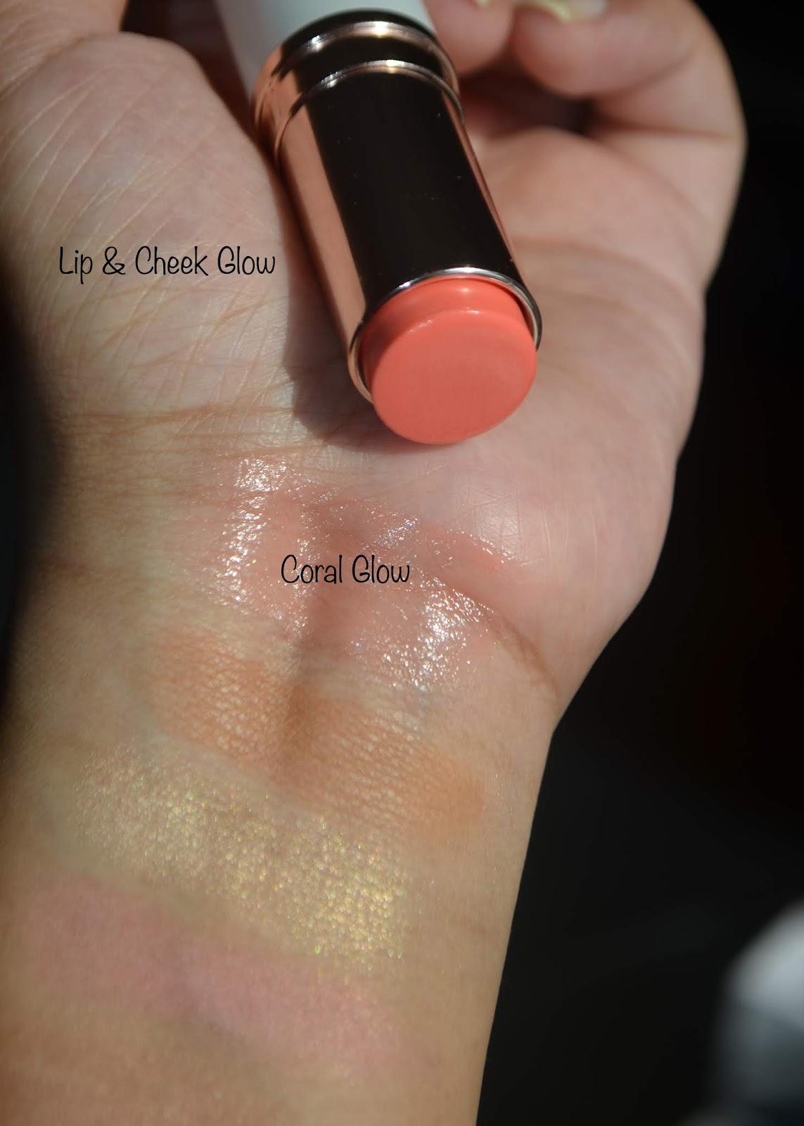 la mer cheek and lip glows
