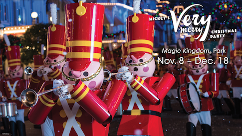 Mickey's Very Merry Christmas Party Dates 2015