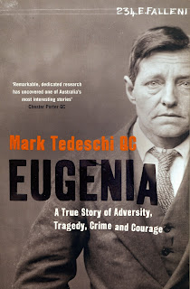 Eugenia, A True Story of Adversity, Tragedy, Crime and Courage by Mark Tedeschi QC book cover