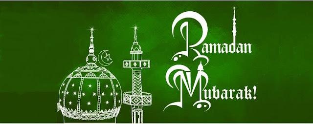 Write Arabic Ramadan Mubarak