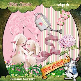 Spring Bunnie 6 freebie