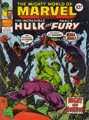 Mighty World of Marvel #287, the Incredible Hulk