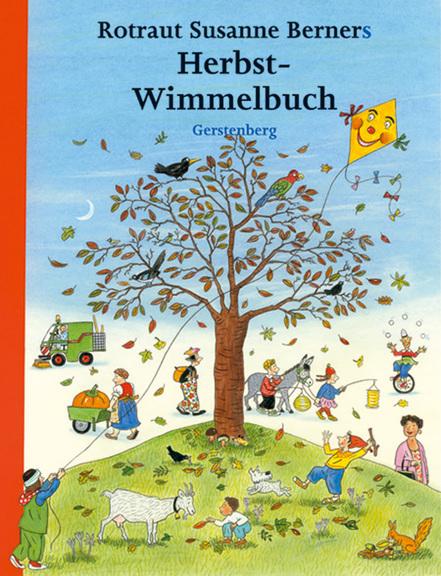 Das Bücherboot: Kinderbücher vom Drachen steigen lassen (+ Verlosung). Darunter auch das wunderbare Herbstwimmelbuch von Rotraut Susanne Berner.