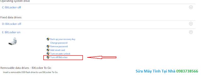 Đặt mật khẩu ổ cứng bằng BitLocker - H11