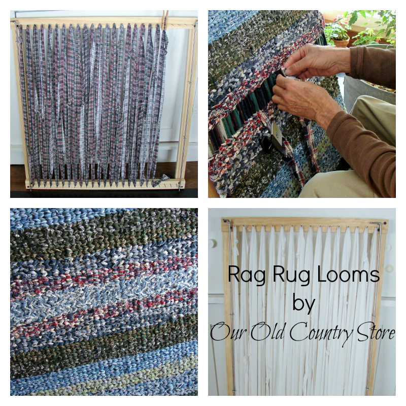 Our Old Country Store: Interchangeable Rag Rug Looms