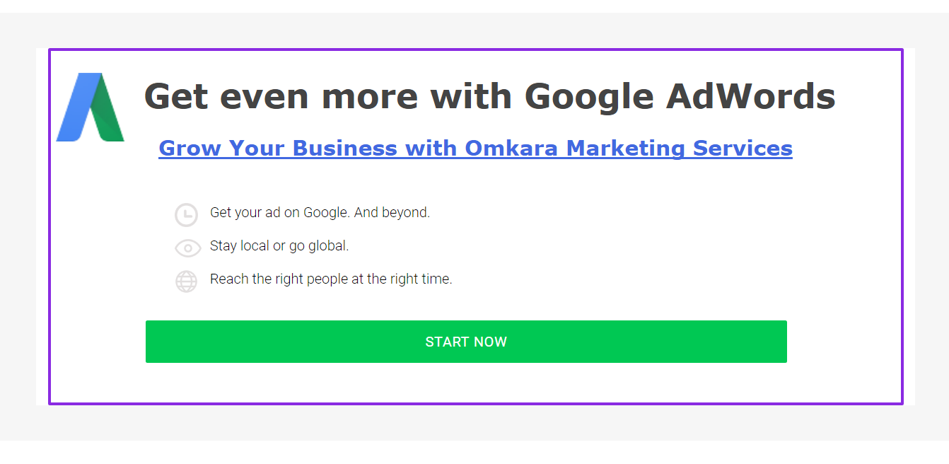 AdWords Display Advertising Services, Google Display Network Ads Campaigns, Banner Advertisements-by Omkara Marketing Services, Google Display Network Marketing Company