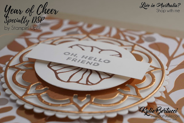 Year of Cheer Speciality Designer Series Paper