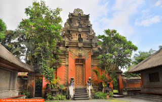 Photo: Puri Saren Agung (Ubud Kingdom Palace), Indonesia
