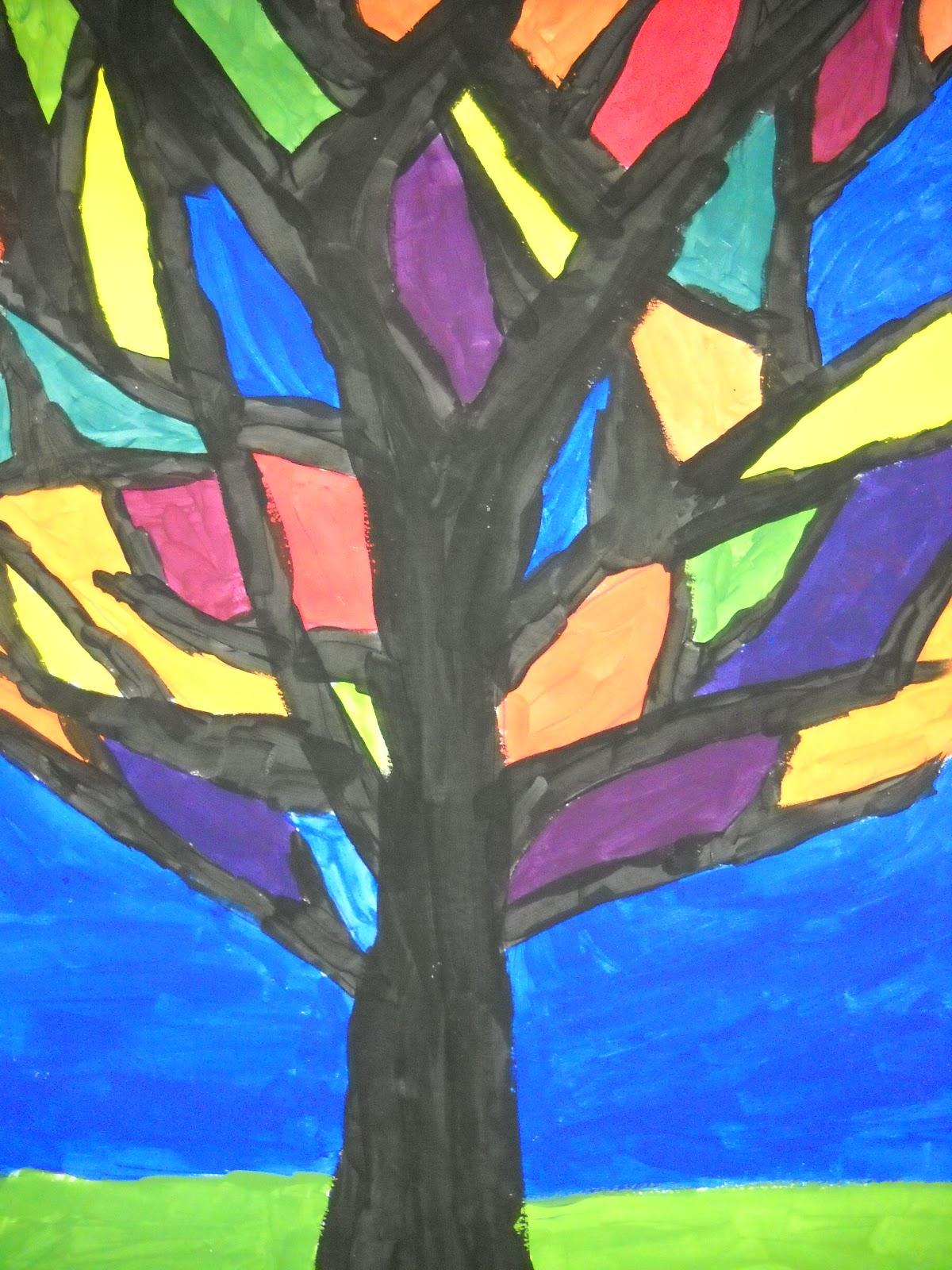 Teach Art And Create Color Theory Trees