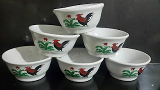 sejarah Asal Usul gambar Ayam Jago pada Mangkuk