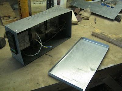 электромонтаж, крышка блока