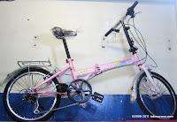 2 Sepeda Lipat TwoWheel 6 Speed Shimano 20 Inci