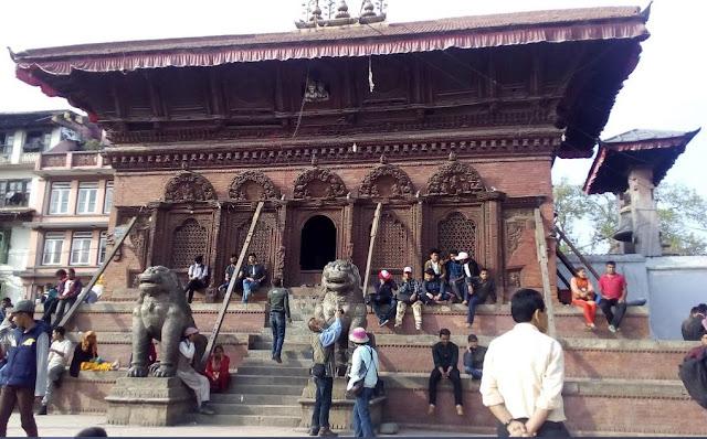 Shiva-parbati Temple kathmandu