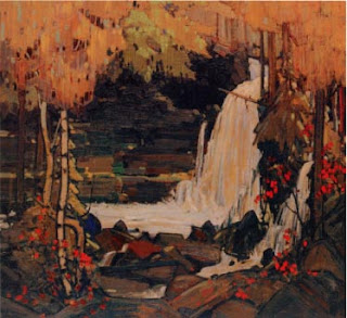 Tom Thomson painting - Woodland Waterfall