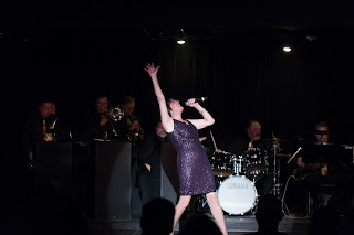 Leaveel at the grand-opening 2014 Gala at THE BLACK BOX