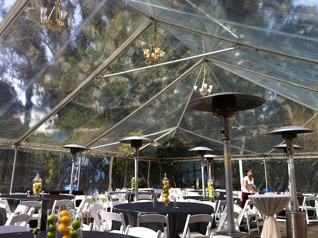 Stareventproductions Pasadena Wedding Clear Tent White