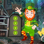 Games4King Leprechaun Escape Walkthrough