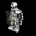 Zorgons, los robots errantes del cosmos ~ Spore Galaxies: The Fallen Soldado%2BZorgon%2Bmodelo%2BX-42%2B3