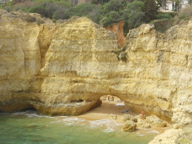 Ponta pequena Algarve cala escondida secreta playa