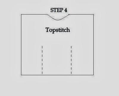esquema de patrón túnica