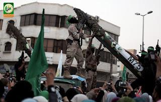 القسام:سبب تفعيل الصواريخ هو قرار قيادة المقاومة  لرفع جهوزيتها القتالة
