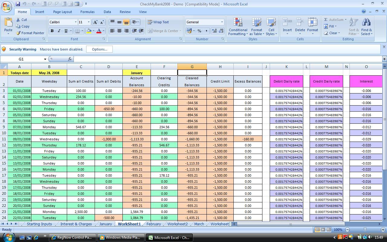 Microsoft Excel Tutorial How To Rename A Worksheet