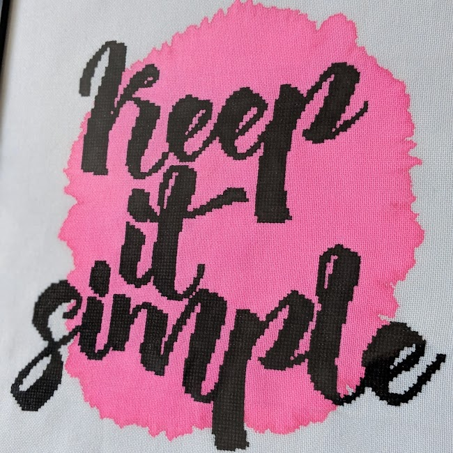 keep it simple cross stitch